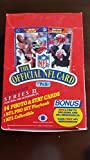 1989 Pro Set Football Series 1 36-Pack Box