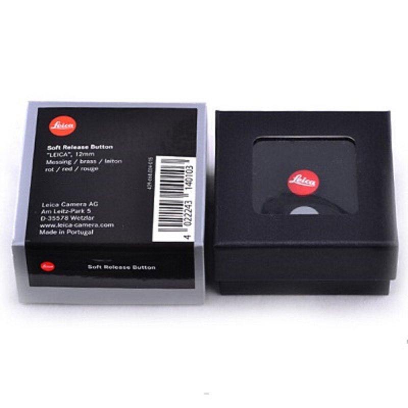 Leica Soft Release Button - ''LEICA'' 8mm 14014