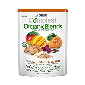 Image of Baby Compleat Organic Blends Chicken-Garden, 10.1 fl oz Pouch, 24 Count