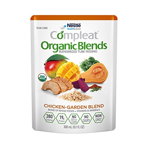 (Compleat Organic Blends Chicken-Garden, 10.1 fl oz Pouch, 24 Count)