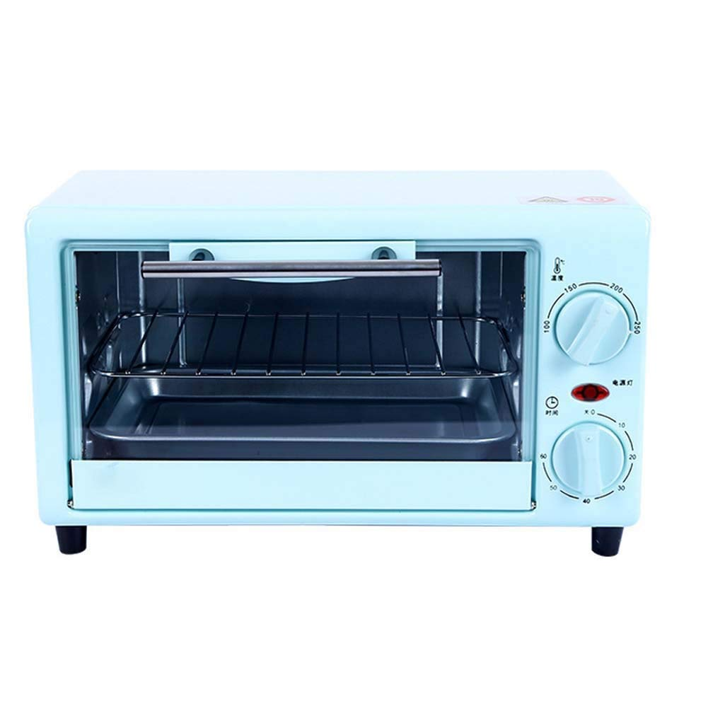 HIZLJJ Countertop Oven with Convection & Rotisserie,Stainless Steel Electric Oven 10 Liters Home Baking Mini Multi-function Time Home Small Oven