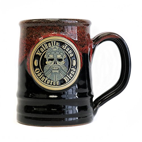 2018 Edition Valhalla Java Ceramic Coffee Mug - Handmade in the U.S.A. - 16 oz