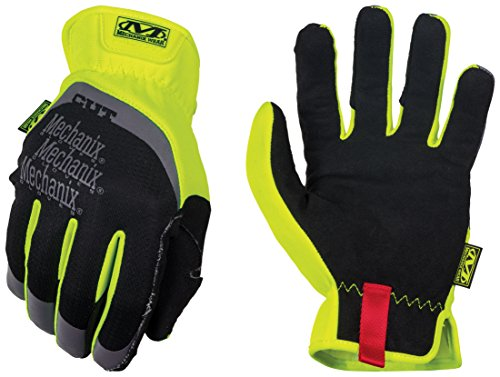 Mechanix Wear - Hi-Viz FastFit Cut Resistant E5 Gloves (Small, Fluorescent Yellow)