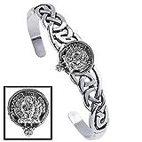 Buchanan Clan Celtic Cuff Bracelet