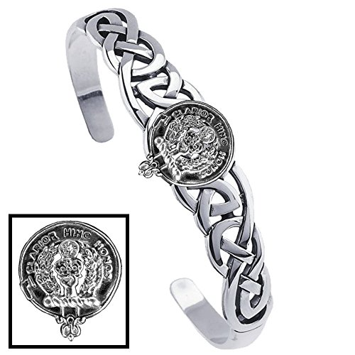 Buchanan Clan Celtic Cuff Bracelet by Celtic Studio