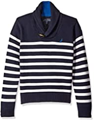 "Nautica Big Boys' ""Toggle Shawl"" Sweater"