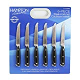 Hampton Forge, Signature Steak Knife Set, 6 pc