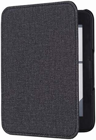 /Étui en Cuir adsorption pour Pochette en Cuir T63 Etui en Cuir Kindle Smart Cover Protector Gris