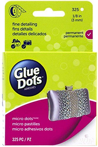 Glue Dots Micro Dot Roll, 325 Clear -