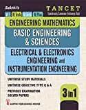Tancet - Electrical & Electronics Engineering and Instrumentation Engineering, Engineering Mathematics & Basic Engineering Science (3 in 1) Study Materials