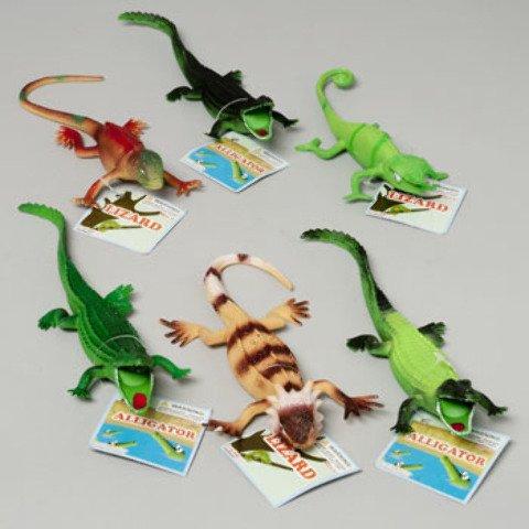 Lizard - Alligators 6 Assorted Case Pack 48 , Kid ,Toy , Hobbie , Nice Gift