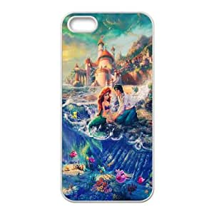 Disneys Lilo And Stitch iphone 5 5S Cell Phone Case White Phone Accessories JV157621