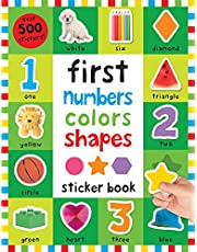 First 100 Stickers: First Numbers, Colors, Shapes
