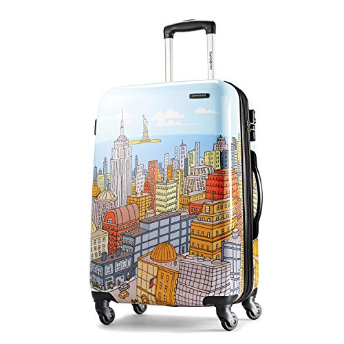 - Samsonite Luggage NYC Cityscapes Spinner 28, Blue Print