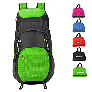 HEXIN Sports Internal Frame Backpack 45L for Men and Women