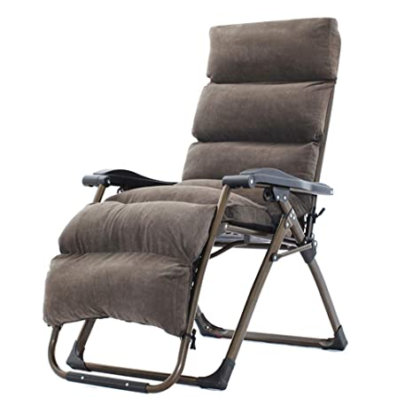 ZHAIZHEN Silla lounge Gravity Sillones reclinables con cojín ...