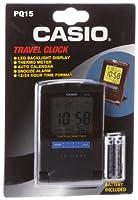Casio PQ15-1K Travel Alarm Clock with Th...
