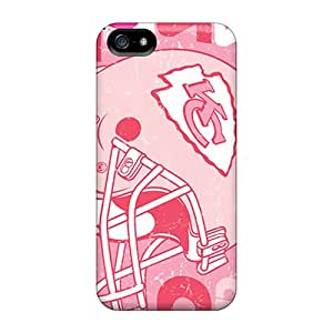 Top Quality Rugged Kansas City Chiefs Case Cover For Iphone 5/5s