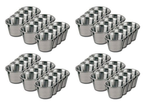 stainless steel cup 2 oz - 1