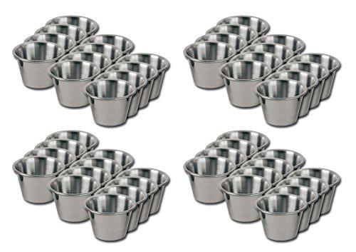 Individual Condiment Sauce Cups- Four Dozen - 2 Oz. - Ounce Cup Sauce 2