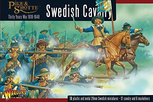 Cavalry Box - Pike And Shotte Swedish Cavalry Box - P+m