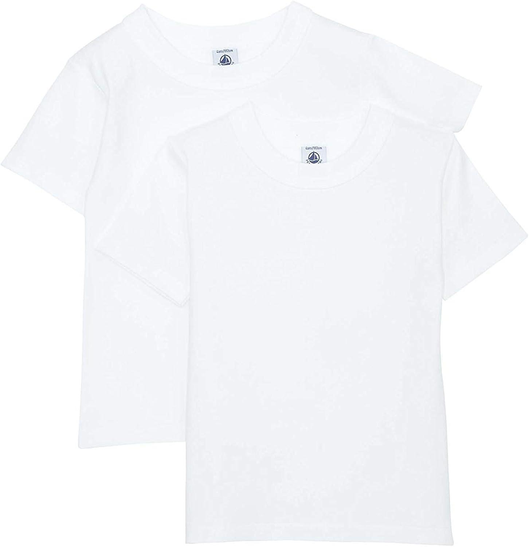 Petit Bateau Boys 2-pk S//S T-Shirts 836461boys