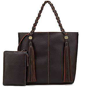 Shomico Hobo Bags For Women Shoulder Handbags Ladies Large Fashion Purse