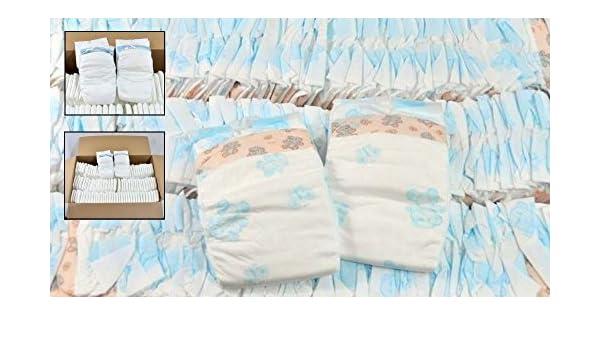 Deutscher Markenhersteller - Pañales desechables para bebés (varias tallas, incluye caja de toallitas húmedas): Amazon.es: Salud y cuidado personal