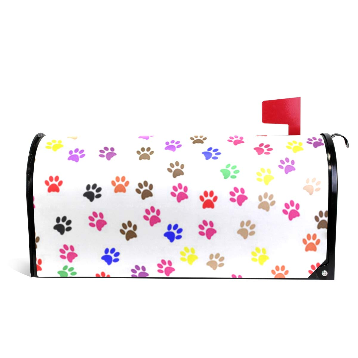 Chu warm Mailbox Covers Magnetic Paw Prints Standard Size