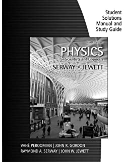 Amazon physics for scientists and engineers with modern study guide with student solutions manual volume 1 for serwayjewetts physics for scientists fandeluxe Image collections