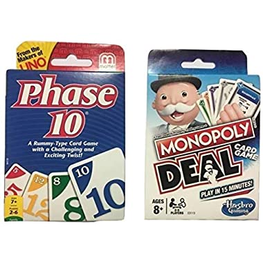 Phase 10 & Monopoly Deal (Pack of 2)