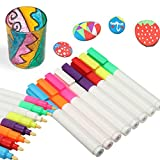 quest marker - Liquid Chalk Markers for Chalkboard Labels Erasable Dustless Water Non-Toxic Wet Erase Glass Colorful Pens for Children Adults Friendly 8 Colors Students Study Take Notes Drawing Tools by Yxaomite
