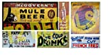 HO Scale Food & Beverage Building / Structure Decals #2