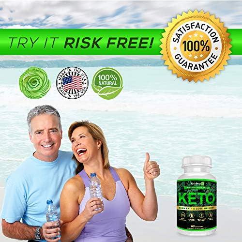 Keto Pills That Work Fast for Women & Men - Keto BHB Capsules Salts Exogenous Ketones Supplement - Keto Diet Pills Energy Boost, Raspberry Ketones, No Caffeine - Get in Ketosis for Ketogenic Diet 5