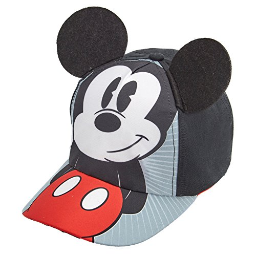 Disney Boys Mickey Mouse Cotton Baseball Cap - 100% Cotton -