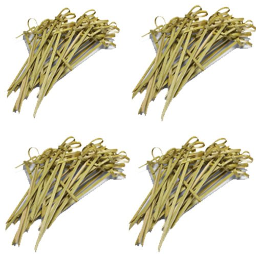 Ezee Bamboo Knot Skewers - 5 Inches (400 Pieces)