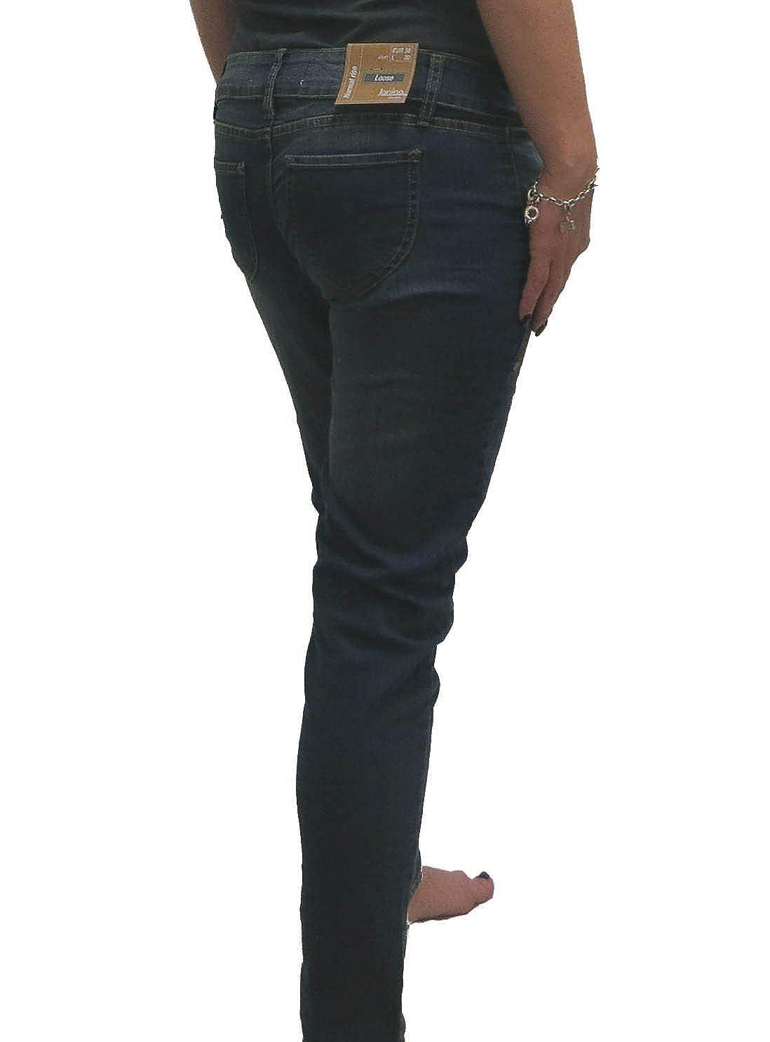 51e2479d711e Denim wear Damen Jeans Loose FIT Jeanshose Hose Women normal Rise   Amazon.de  Bekleidung