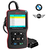 OBDScar OS801 Code Reader for BMW & Mini Cooper Check Engine Light EPB ABS SRS OBD2 Scanner with Modes 1-10