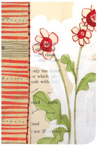 Blooms Stripe - Pocketbook in Bloom Stripe
