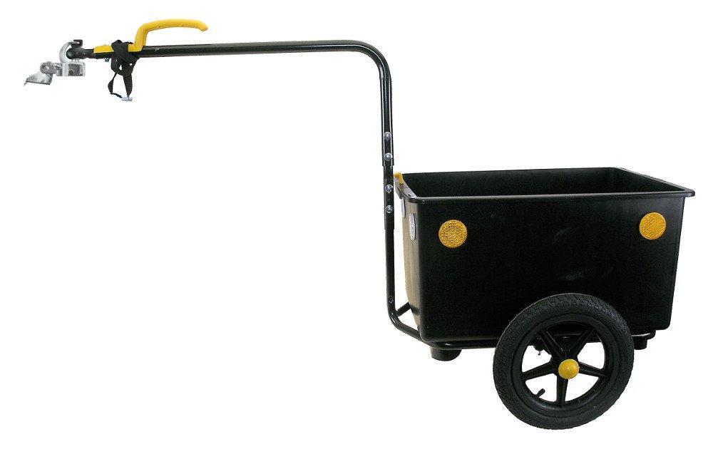 Bellelli Eco Trailer Maxi 60 L Remorque vélo Noir 640040