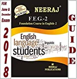 FEG2-Foundation Course in English-2 (IGNOU help book for FEG-2 in English Medium)