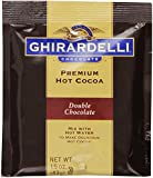 Ghirardelli Premium Hot Cocoa, Double Chocolate, 1.5-Ounce Envelopes, 15-Count