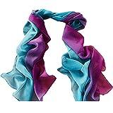 iYBUIA 2018 New Women Gradient Printing Scarf Fashion Female Beach Multi-Purpose Shawl Scarf