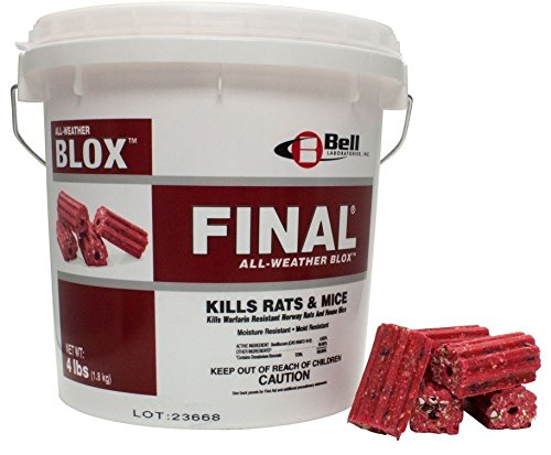 Final Blox Rodenticide 18 lb pail BELL-1017 by Bell Labs