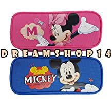 Mickey and Minnie Pencil Case 2ct.