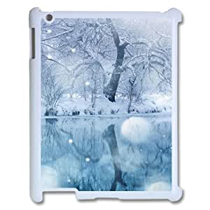 Ice And Snow Unique Design Cover Case for Ipad2,3,4,custom case cover ygtg-297077