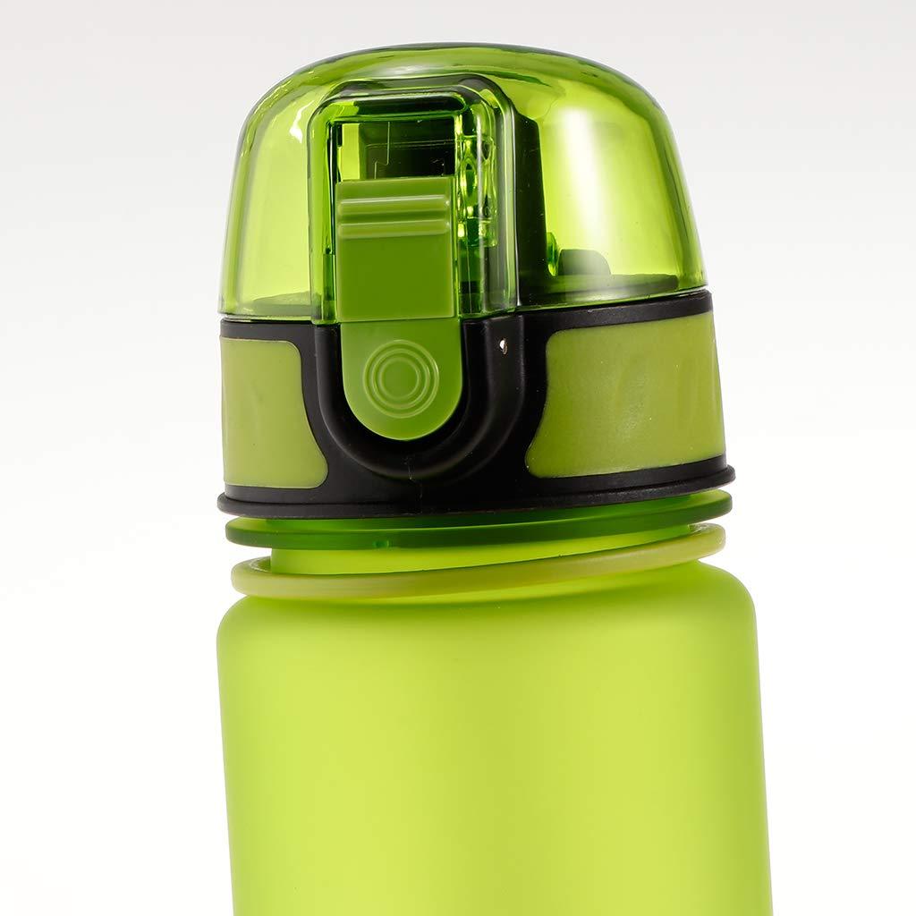 F Fityle Botella de Agua de Niños Sin-Tóxicos Deportes al Aire Libre Ciclismo Bicicleta Estudiante Escuela, Envase Escolar - Verde: Amazon.es: Deportes y ...