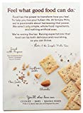 Simple Mills Almond Flour Crackers, Black Cracked