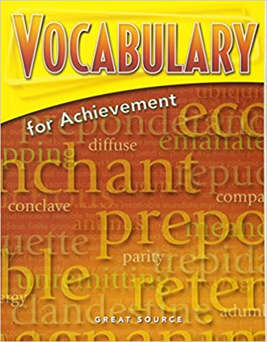 Amazon great source vocabulary for achievement student edition great source vocabulary for achievement student edition grade 12 sixth course 2006 4th edition fandeluxe Image collections
