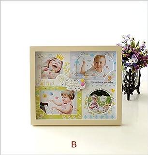 8a32d5ce9fefb フォトフレーム 写真立て ベビー 赤ちゃん 出産祝い プレゼント ギフト 複数 4枚 4窓 かわいい